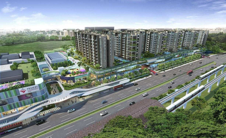 Yishun Executive Condo Near to Yishun Road at North South MRT Line Yishun
